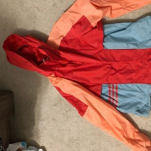 Adidas rain jacket.
